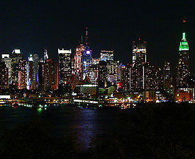 New York CIty at Night - Westminster Dog Show