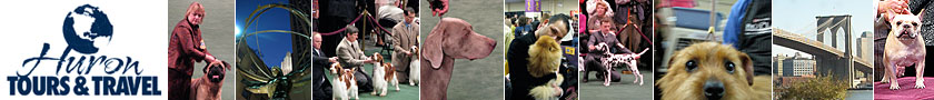 Westminster Dog Show Logo - Huron Tours